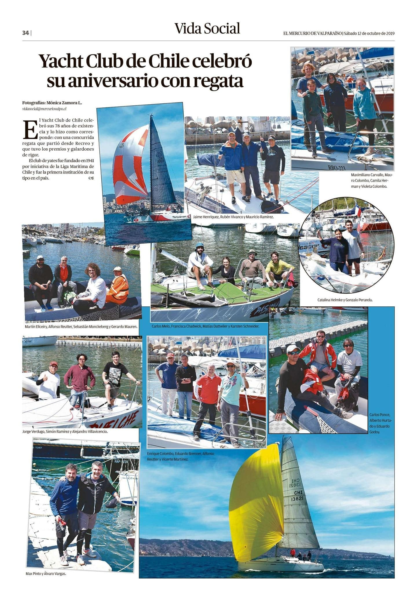 Regata Aniversario Yatch Club de Chile